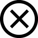Cross Icon Circle Svg Cancel Icons Onlinewebfonts