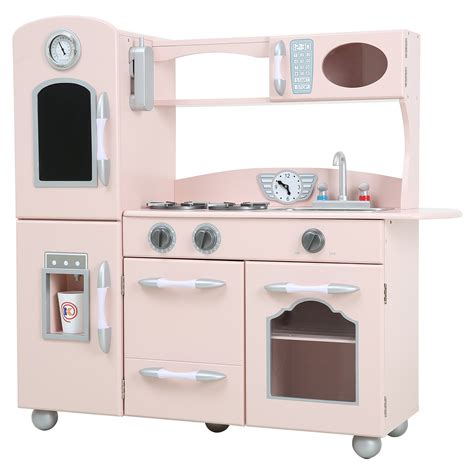 Kitchen Play Set by Teamson Wooden Play Kitchen Set Play Kitchens At