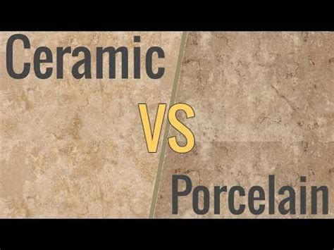 difference between porcelain and ceramic tile how to cut porcelain tile using an angle grinder doovi
