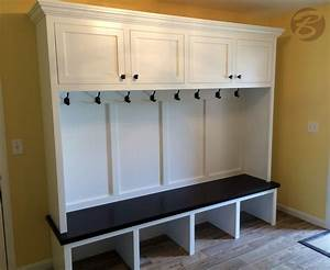 Handmade Mudroom / Entryway Bench And Storage by