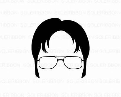 Dwight Office Schrute Svg Tv Clipart Cricut