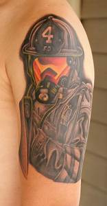 Firefighter Tattoo (arm) | Shared by LION | Smokin' Ink ...
