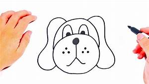 How to draw a Dog Step by Step   Easy drawings Tutorials ...