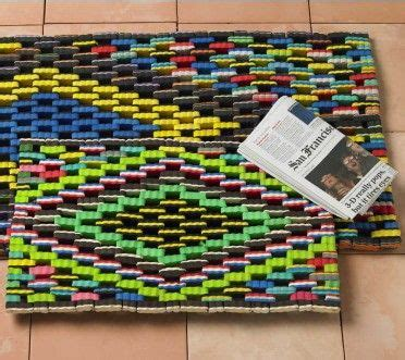 Recycled Flip Flop Doormat by Made From Recycled Flip Flops Rugs Front Door Mats