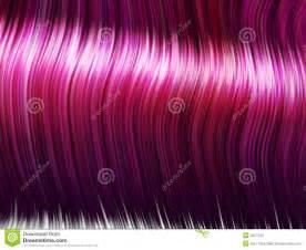 Pink Hair Strands