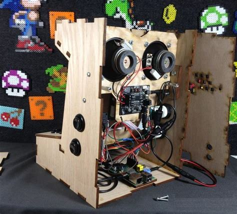 mini arcade cabinet kit build your own mini arcade cabinet with raspberry pi