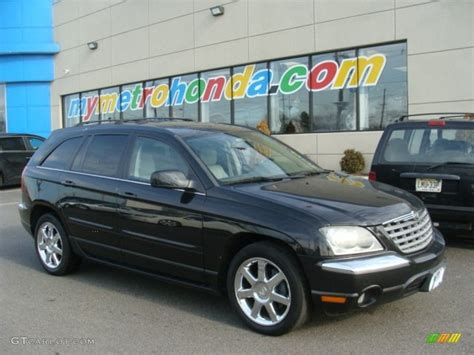 2006 Chrysler Pacifica Limited by 2006 Brilliant Black Chrysler Pacifica Limited Awd