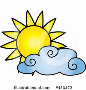 Partly Cloudy Clipart | ClipArtHut - Free Clipart