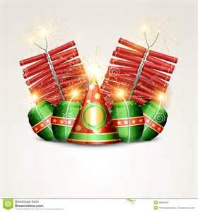 Diwali Crackers Clip Art