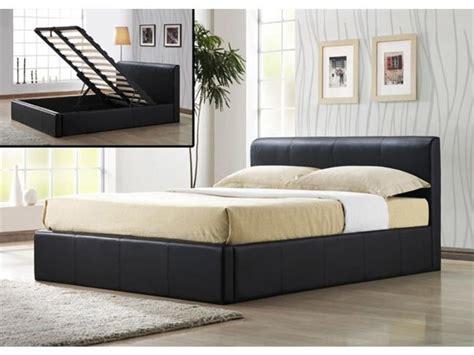 modern bedroom furniture with black king size bed frame