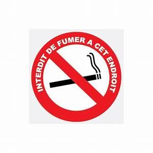 Panneau Interdiction De Fumer : adh sif interdit de fumer ~ Melissatoandfro.com Idées de Décoration