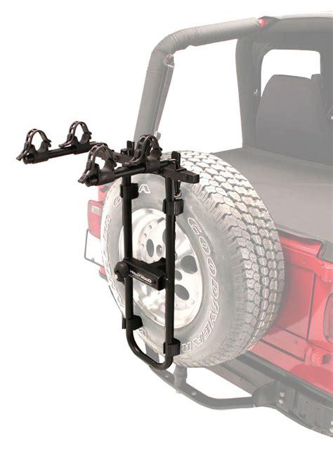 tire bike rack racks sr2 2 bike carrier spare tire mount