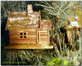 twig cabin christmas ornament flickr photo sharing