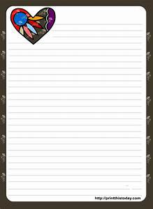love letter stationery free printable free printable With letter stationary