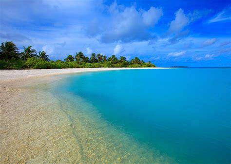 am ager bureau plage paradisiaque lagon tropical hd papier peint de