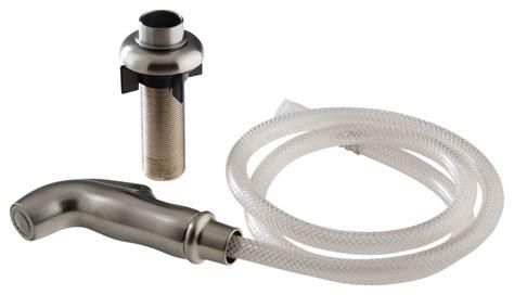 shop houzz showerdoordirect delta spray hose assembly  spray support rpss kitchen