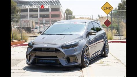 ford focus felgen dia show tuning 2017 ford focus rs mit mountune parts project 6gr felgen