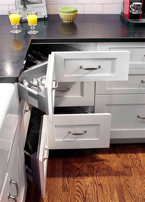 Kitchen Cupboard Drawers by 30 Corner Drawers And Storage Solutions For The Modern