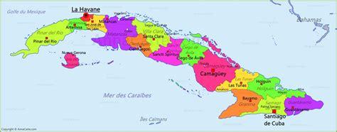Carte Du Monde Cuba by Carte Cuba Annacarte