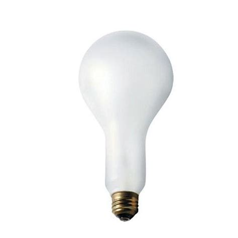 philips 150 watt incandescent a25 silicone coated frosted