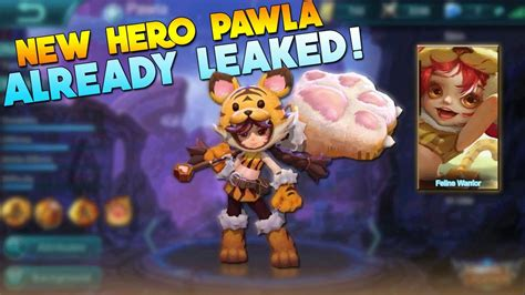 Mobile Legends New Support Hero Leaked! (pawla)