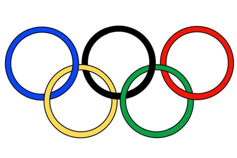 olympic symbol clipart clipground
