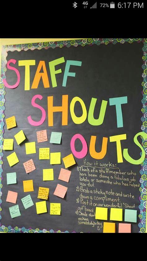staff shout outs teacher appreciation week staff