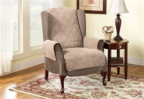 large seat back protector for lift chair taupe color