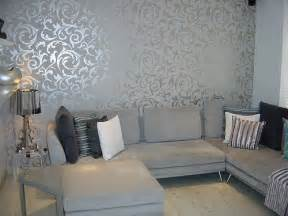 wallpaper for livingroom grey wallpaper living room post on brunch at saks flickr photo