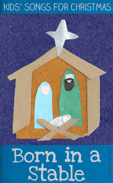 nativity crafts activities  books kids  op reading confetti
