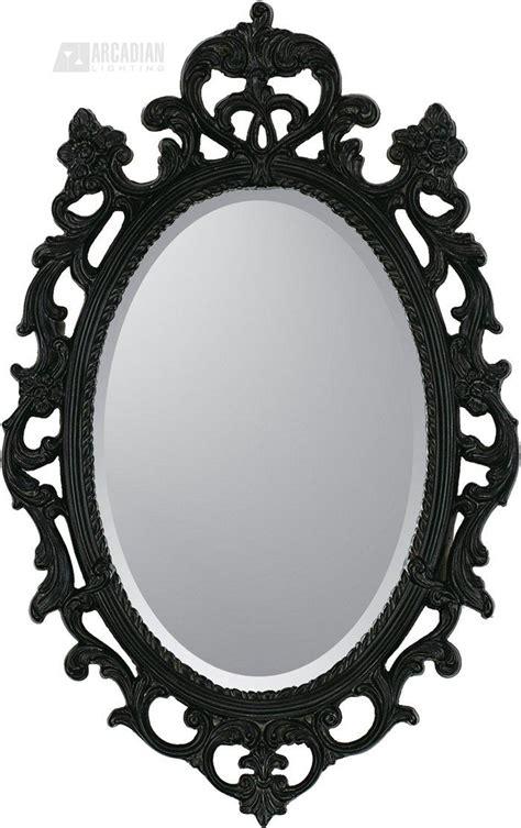black oval bathroom mirror ung drill mirror oval black x cm ikea home lighting ideas 17412
