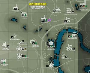 Weston Region Map Fallout 4
