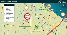 Union Square Map, San Francisco | Where is Union Square