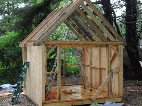 how to roof a shed common rafter framing thisiscarpentry