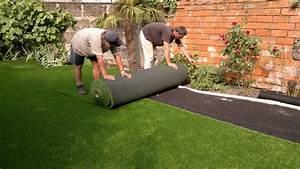 Pose Gazon Synthetique Sur Terre : pelouse synthetique ~ Dailycaller-alerts.com Idées de Décoration