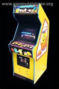 Mario Bros Arcade Cabinet by Professor Pac Man Arcade Games Database