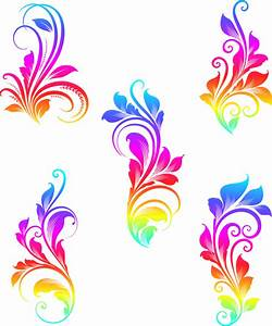 Colorful, Swirls, Vector, Graphics