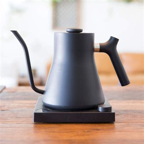 kettle electric stagg fellow ekg pour kettles gooseneck tea coffee control temperature variable water matte pourover temp ubuy
