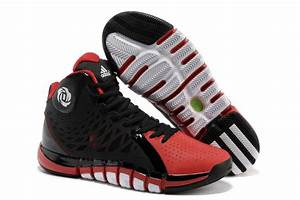 cheap derrick rose 733 ii shoes black red white outlet