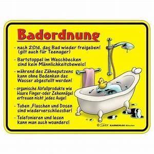 Ordnung Im Bad : rahmenlos 3336 gepr gtes blechschild bad ordnung ~ Buech-reservation.com Haus und Dekorationen