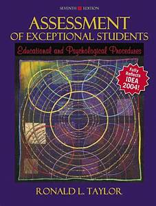Taylor  Assessment Of Exceptional Students  Educational