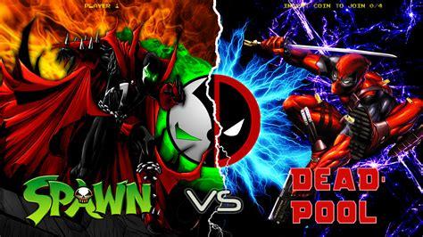 Spawn Vs Deadpool By Mrangrymob On Deviantart