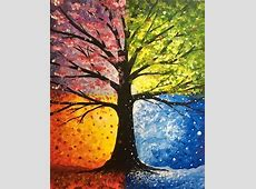 Paint Nite Hot, Cold, Wet, and Falling