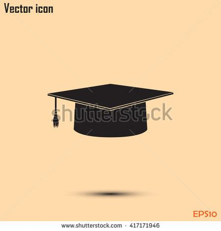 14995 graduation cap icon vector stock images royalty free images vectors