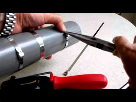 cv boot clamp install plier  banding tool ch  youtube