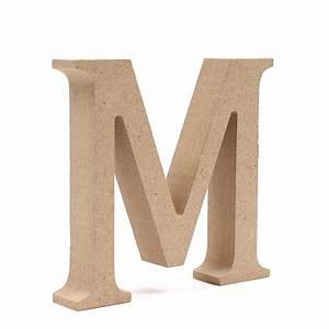 Mdf Wooden Letter M 8 Cm Hobbycraft
