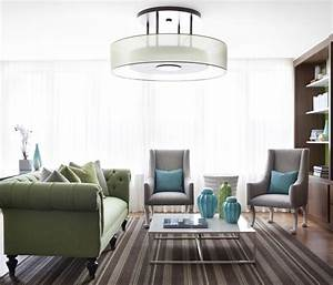 Living room simple ceiling light fixture