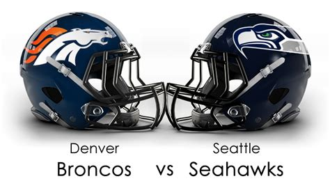 denver broncos  seattle seahawks  super bowl battle