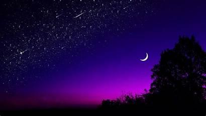 Sky Night Dark 4k Wallpapers Laptop Moon