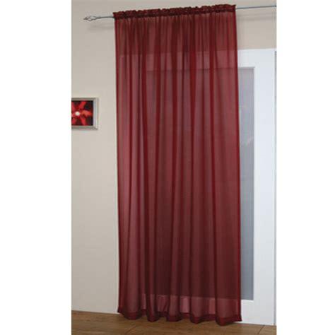 voile net slot top rod pocket curtain panel bedroom